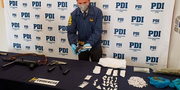 PDI detiene a sujeto que amedrentaba a vecinos con armas de fuego