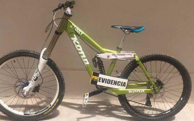 PDI recupera bicicleta avaluada en 1 millón 200 mil pesos
