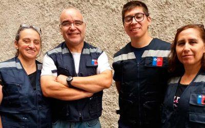 Profesionales del SAMU O'Higgins apoyan emergencia en el norte