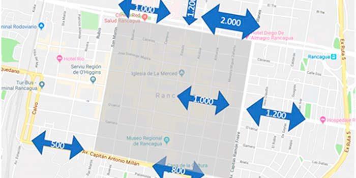 Rancagua posee los mayores flujos ciclistas urbanos de Chile