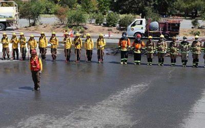 Una nueva brigada para el combate de incendios forestales comienza a operar en la Región