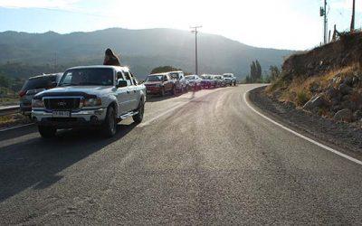 Vecinos de Chacayes ya cuentan con camino pavimentado