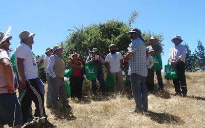 Vecinos se capacitan en cosechar aguas lluvias para para sus cultivos agrícolas