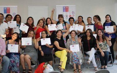16 mujeres de Machalí participan del Programa de Desarrollo de Competencias Laborales