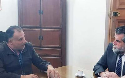 Alcalde de San Fernando destacó positiva reunión con subsecretario del Interior por el paso Las Damas