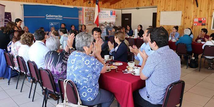 Autoridades realizan lanzamiento provincial del Fondo del Adulto Mayor