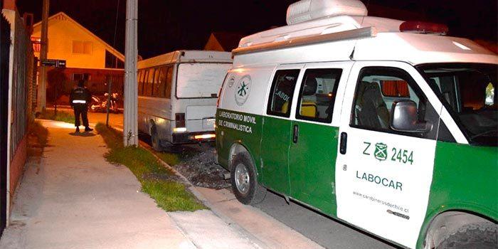 Carabineros investiga confuso incidente entre conductor y pasajeros