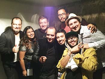 Chimbaronguina y su banda abrieron concierto de Natalino