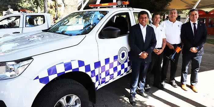 Dan inicio a proyecto de patrullaje preventivo que mejorará la seguridad de Santa Cruz