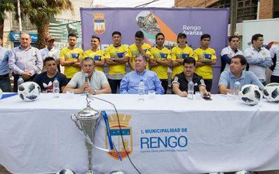 Deportes Rengo presenta nuevos refuerzos y cuerpo técnico