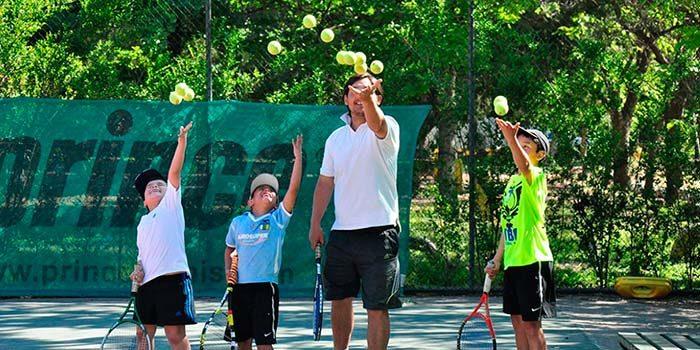 El tenis se tomará la plaza de Los Héroes este fin de semana