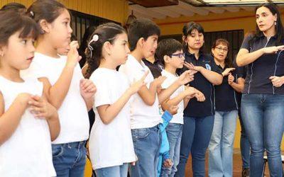 Escuela especial crecer inicia año escolar 2019