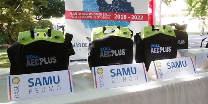 Gobierno entrega equipamiento de última generación a ambulancias SAMU