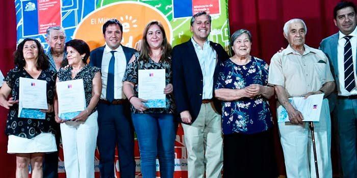 Gobierno entrega subsidio para la casa propia a familias de Coinco, Codegua y Graneros