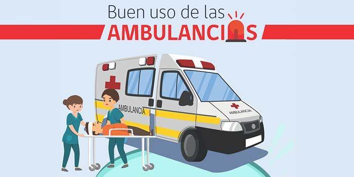 Hospital de Coinco llama a hacer un buen uso de las ambulancias