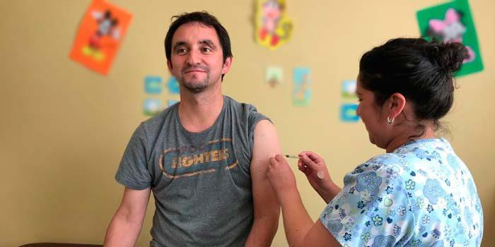 Hospital de Marchigüe inicia campaña contra la influenza