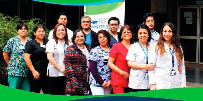 Hospital San Fernando centra su trabajo en la re-acreditación