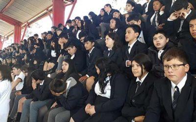 Inauguran oficialmente año escolar 2019 en Palmilla