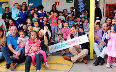Intendente da inicio oficial al año de educación parvularia 2019
