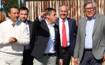 Intendente Masferrer anunciará medidas abordadas en mesa de trabajo con alcaldes y seremis por taco Rancagua Machalí