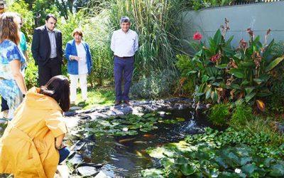 ISA InterChile visita Pro O'Higgins para conocer experiencia de programa de Biotopos