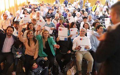Más de 200 dirigentes participan de escuela de formación realizada en San Vicente