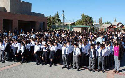Más de mil estudiantes del colegio Los Cipreses inician el año escolar
