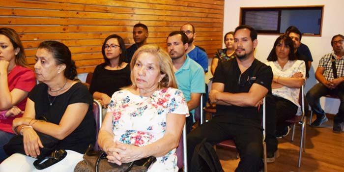 Médicos de atención primaria de Rancagua se capacitan en temáticas de la Compin