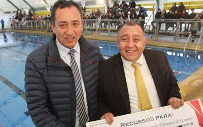 Ministerio del deporte determina que Graneros sea el centro de la natación regional