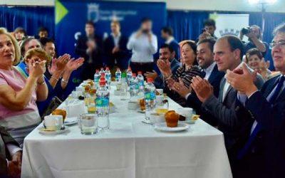 Ministro Monckeberg y Primera Dama dan a conocer rebaja en las contribuciones para adultos mayores
