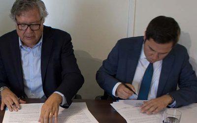 Minvu O'Higgins y municipio de Rancagua firman convenio para rediseñar el centro histórico