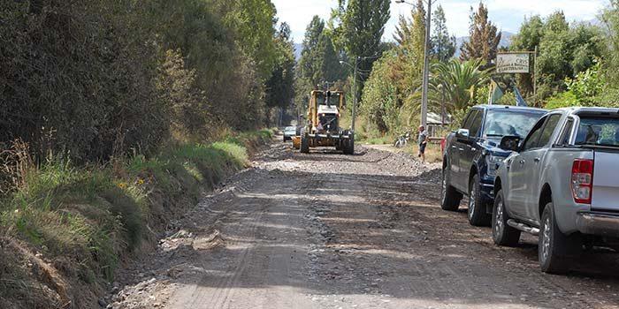 MOP O'Higgins demuestra su eficiencia con sentido social cuando inicia obras de caminos postergados por años