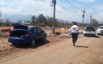 PDI recupera automóvil robado en Rancagua