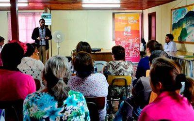 Realizan primera reunión con vecinos del nuevo Barrio Loreto de Coltauco