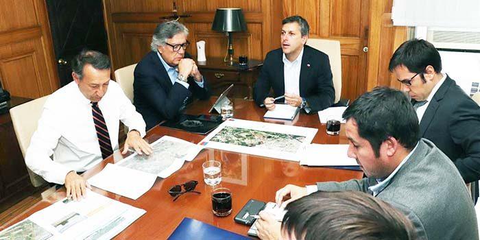 Reunión para mejorar desplazamientos entre Rancagua y Machalí