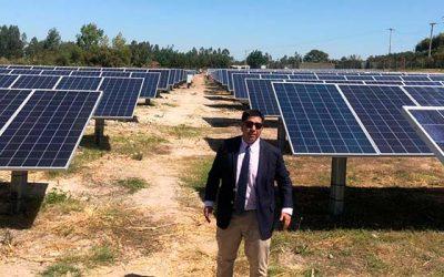 Seremi de energía destaca proyecto fotovoltaico El Queule en Las Cabras