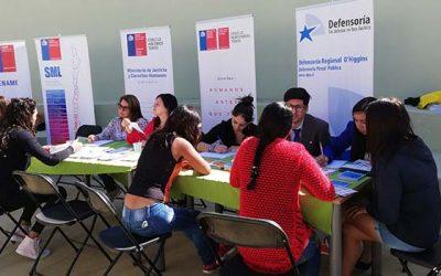 Servicios públicos responden las consultas de las internas del Complejo Penitenciario de Rancagua