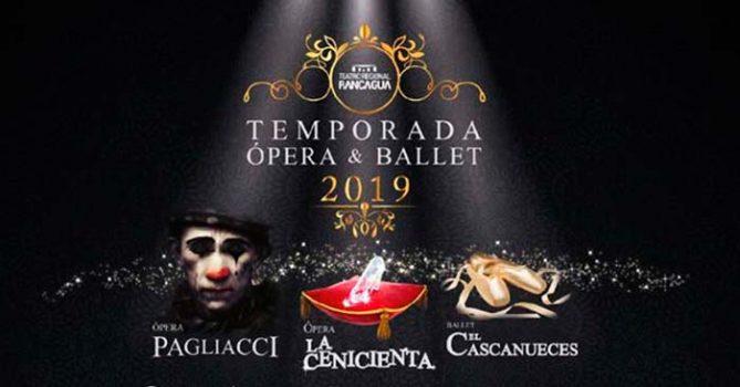 Temporada de Ópera y Ballet en el Teatro regional de Rancagua