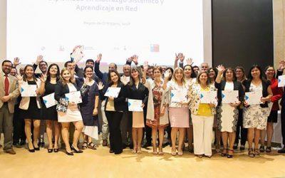 UOH y PUCV certificaron a profesionales participantes de diplomado sobre liderazgo sistémico y aprendizaje en red