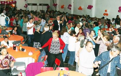Adultos mayores bailaron y disfrutaron del primer malón del año