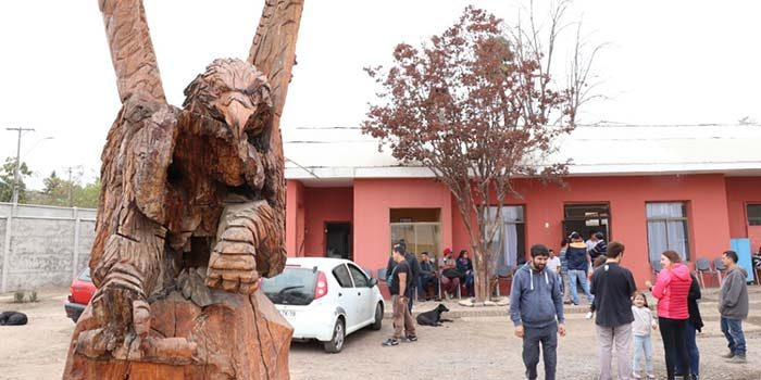 Alcalde de Rancagua visita comedor abierto de la Fundación Refugio