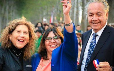 Alcaldesa de Palmilla inaugura emblemática pavimentación de camino de acceso a Santa Matilde y Santa Irene