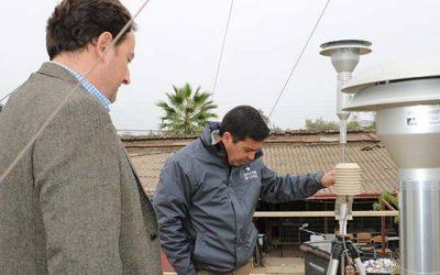 Autoridades revisaron funcionamiento de planta de medición de material particulado de Colchagua