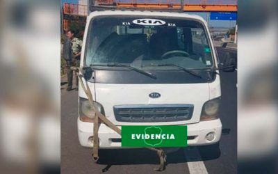 Carabineros de Mostazal recuperan vehículo robado en San Vicente