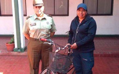 Detenido sujeto tras robar bicicleta en Rancagua