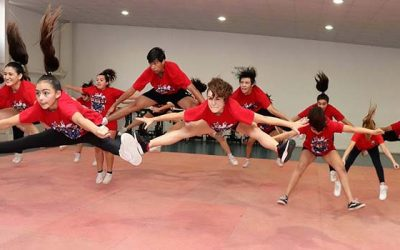 Cheerleaders rancagüinas ya se preparan para viajar a Estados Unidos
