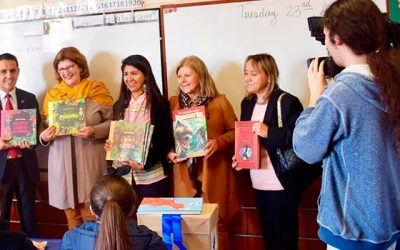 Corte de Apelaciones de Rancagua dona más de 200 libros a colegio República Argentina