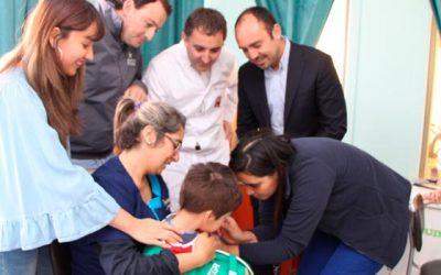 Fundación Integra prosigue la campaña contra la influenza