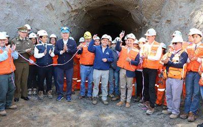 Inauguran en Chancón túnel minero para fines educativos