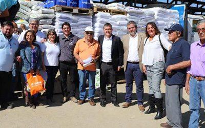 Inicia entrega de bonos de fortalecimiento a más de 7 mil pequeños agricultores
